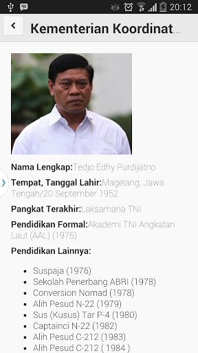 Kabinet Menteri Jokowi JK