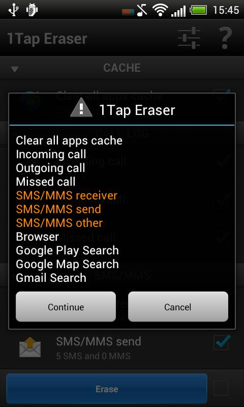 1Tap Eraser | Automatic- screenshot