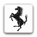 The official Ferrari Magazine logo