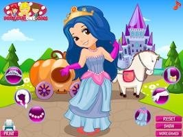 Screenshot of Princess Carriage Dress Up