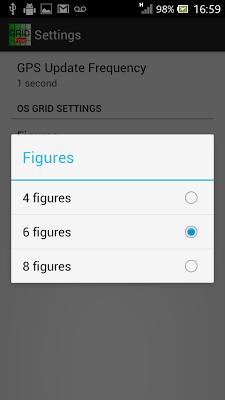 Grid Reference Free - screenshot