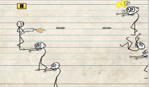 【免費休閒App】Stickman Zombie Survival-APP點子