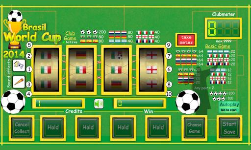 スロットマシンワールドカップ2014