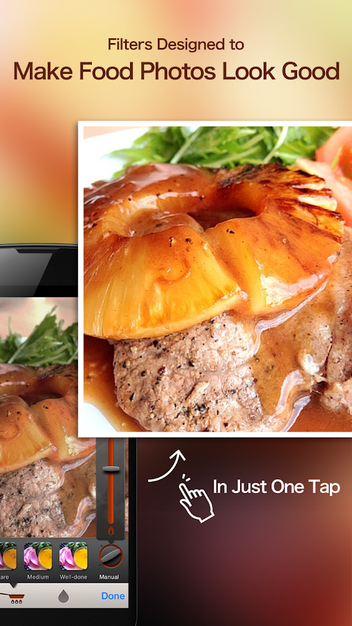 SnapDish Food Camera & Recipes- screenshot