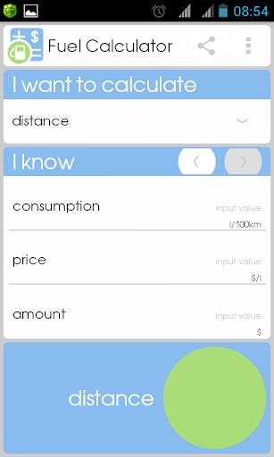 Fuel Calculator  screenshots 1