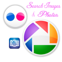 Picasa - Flickr Image Search icon
