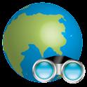 World Binoculars logo