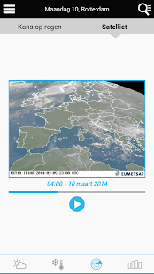 Weather for the Netherlands - náhled