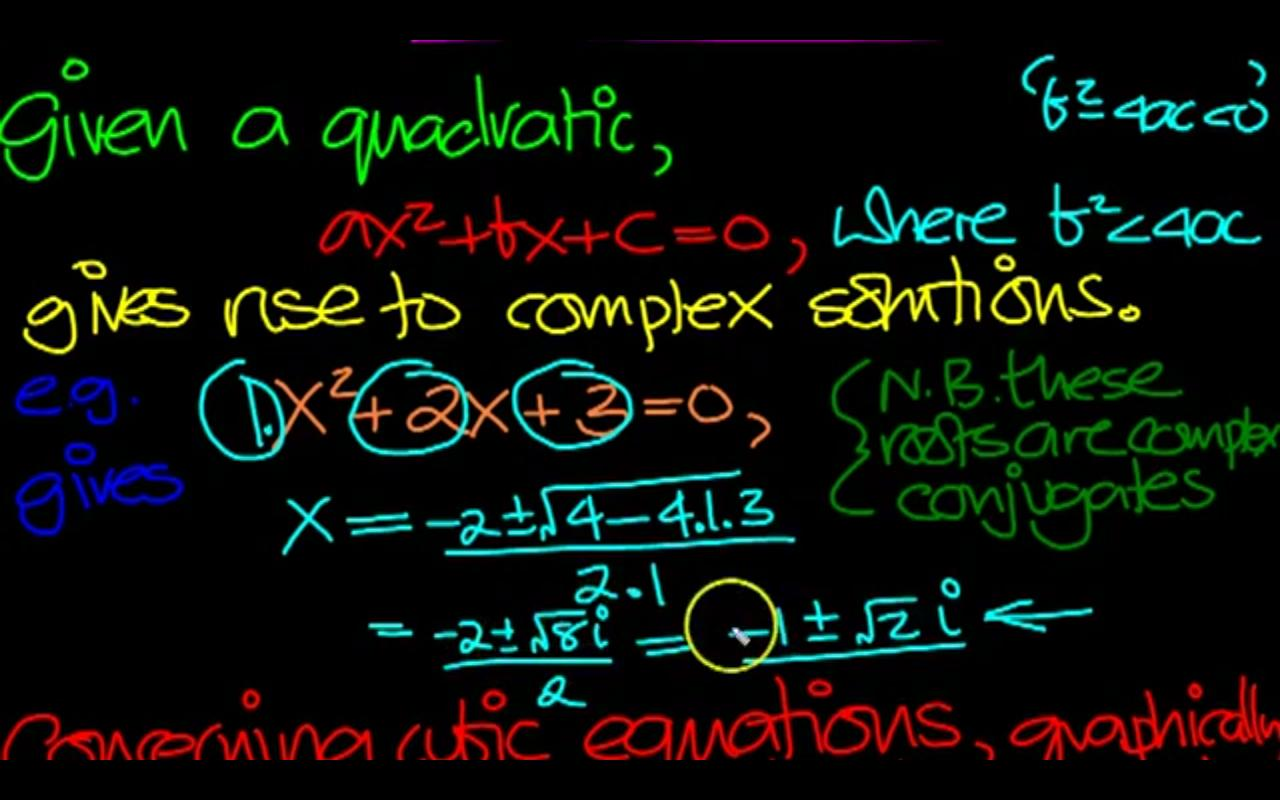 Complex Numbers Practice - screenshot