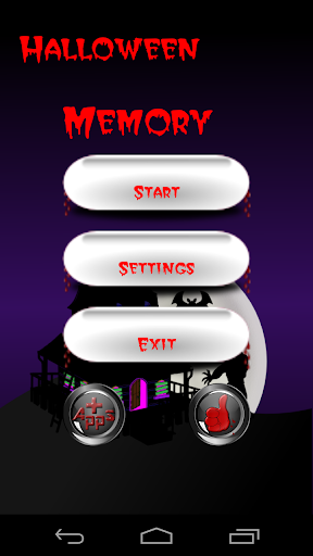 Halloween Memory Cards Free