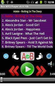 Box MP3 Folder Music Player - screenshot thumbnail
