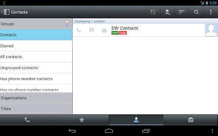 DW Contacts & Phone & Dialer Screenshot 13