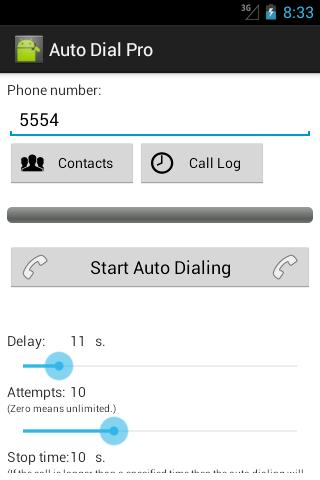 Auto Dial Pro