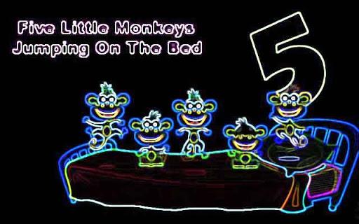 Kids Poem Little Five Monkeys