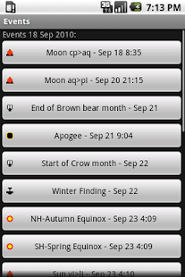 Pagan Calendar- screenshot thumbnail