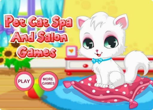 寵物貓的水療中心和沙龍遊戲HD