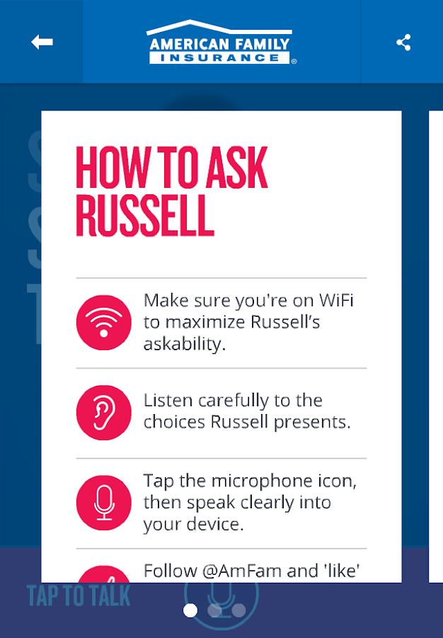 Ask Russell - screenshot