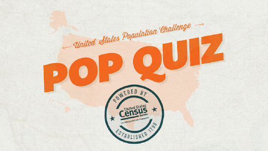 Census PoP Quiz - screenshot thumbnail