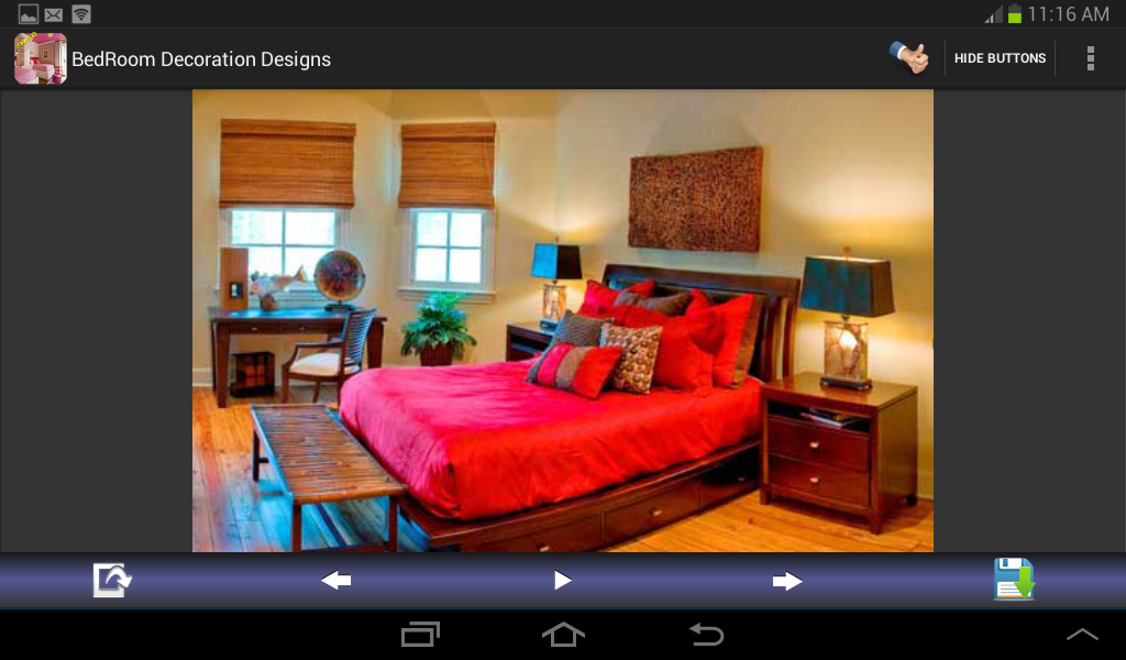 Bedroom Decoration Designs - screenshot