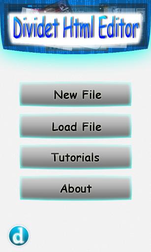 Dividet HTML Editor Lite