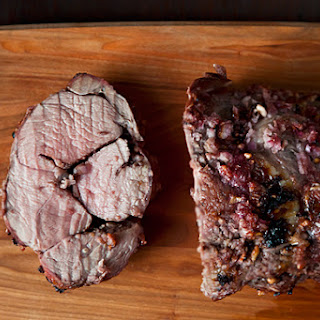 Pomegranate Roast Lamb.