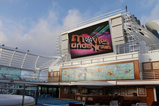 Emerald-Princess-Movies-Under-the-Stars - The best place on earth to watch a movie, under the stars, on Emerald Princess.