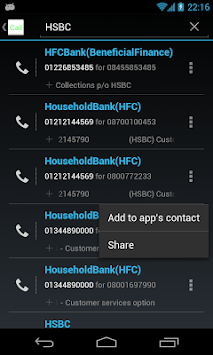 0870 0844 0800 Free Call APK screenshot thumbnail 3