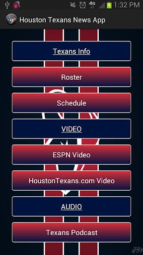 Houston Texans News App  screenshots 1