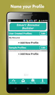 resume builder pro 5 minutes cv maker templates android apps