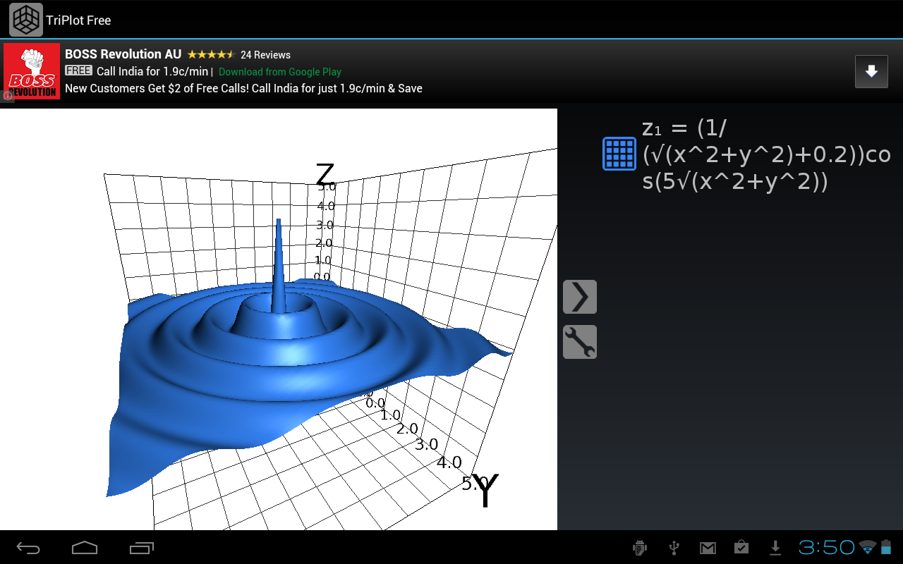 Free 3d graphing calculator for 3d plot online