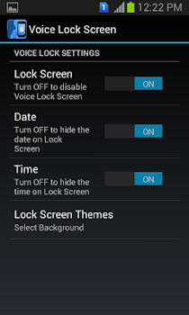 Voice Lock Screen Prank