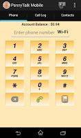 Screenshot of PennyTalk Mobile