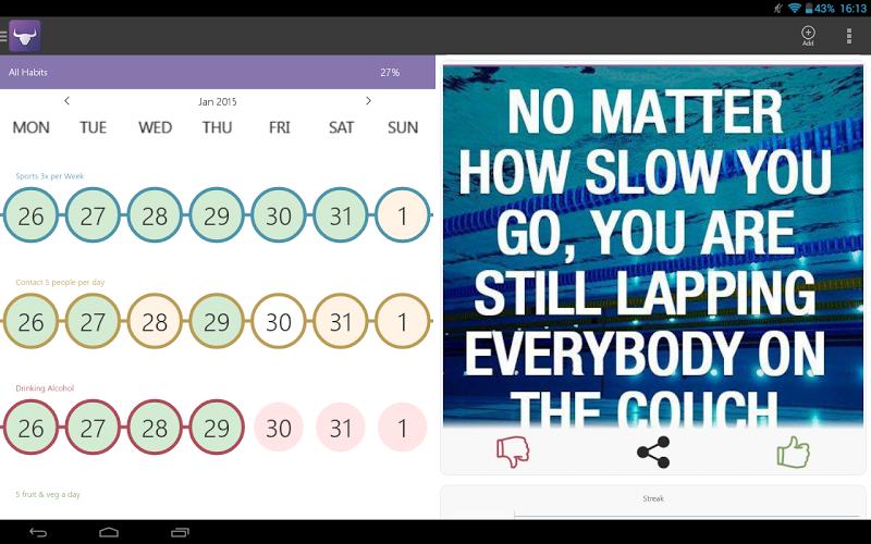 Habit Tracker Screenshot 11