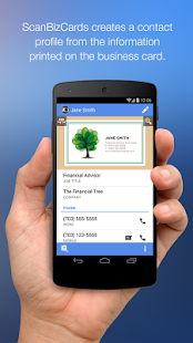 Scanbizcards lite scan card apps on google play screenshot image screenshot image reheart Image collections