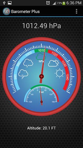 Barometer Plus  screenshots 2