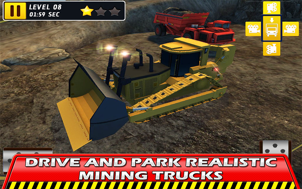 hard mining truck drive amp park android apps on google play