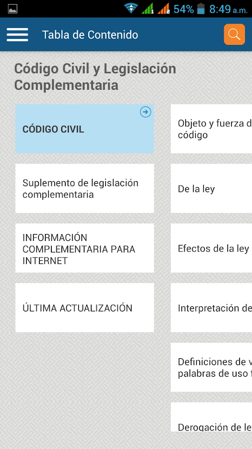 Publicaciones LEGIS- screenshot