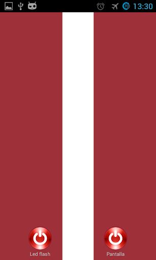 Lantern flash screen Latvia