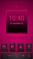 Screenshot of ADW Theme Darkroom Pink