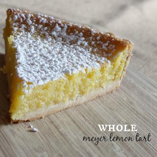 Whole Meyer Lemon Tart