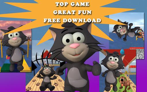 小さな猫の実行:実行中のゲームの楽しみ