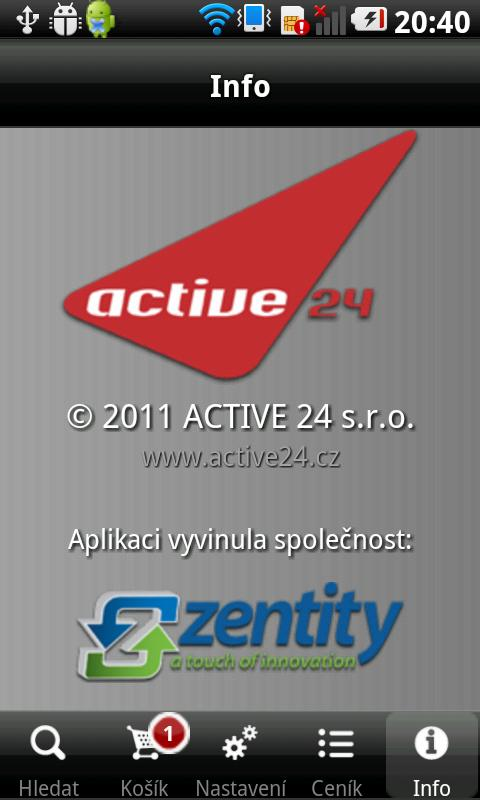 Active 24 - screenshot