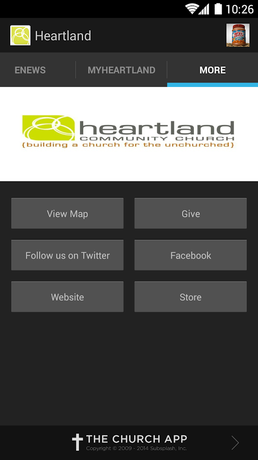 Heartland Community Church - screenshot