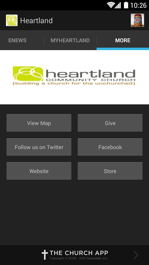Heartland Community Church - screenshot