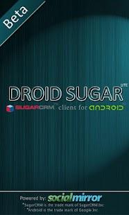 DroidSugar LITE- screenshot thumbnail