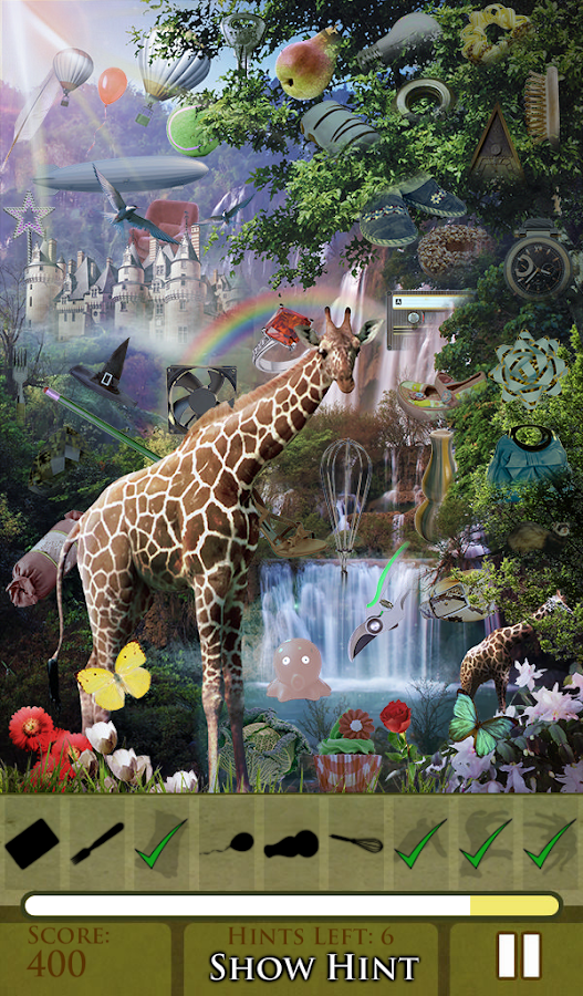 Hidden Object Wilderness FREE!- screenshot