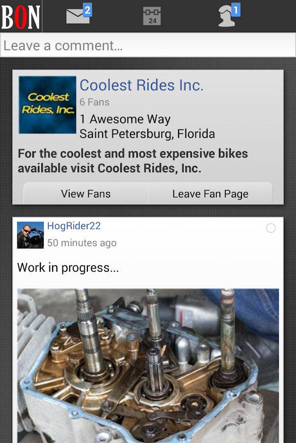 BikerOrNot - Where Bikers Meet- screenshot