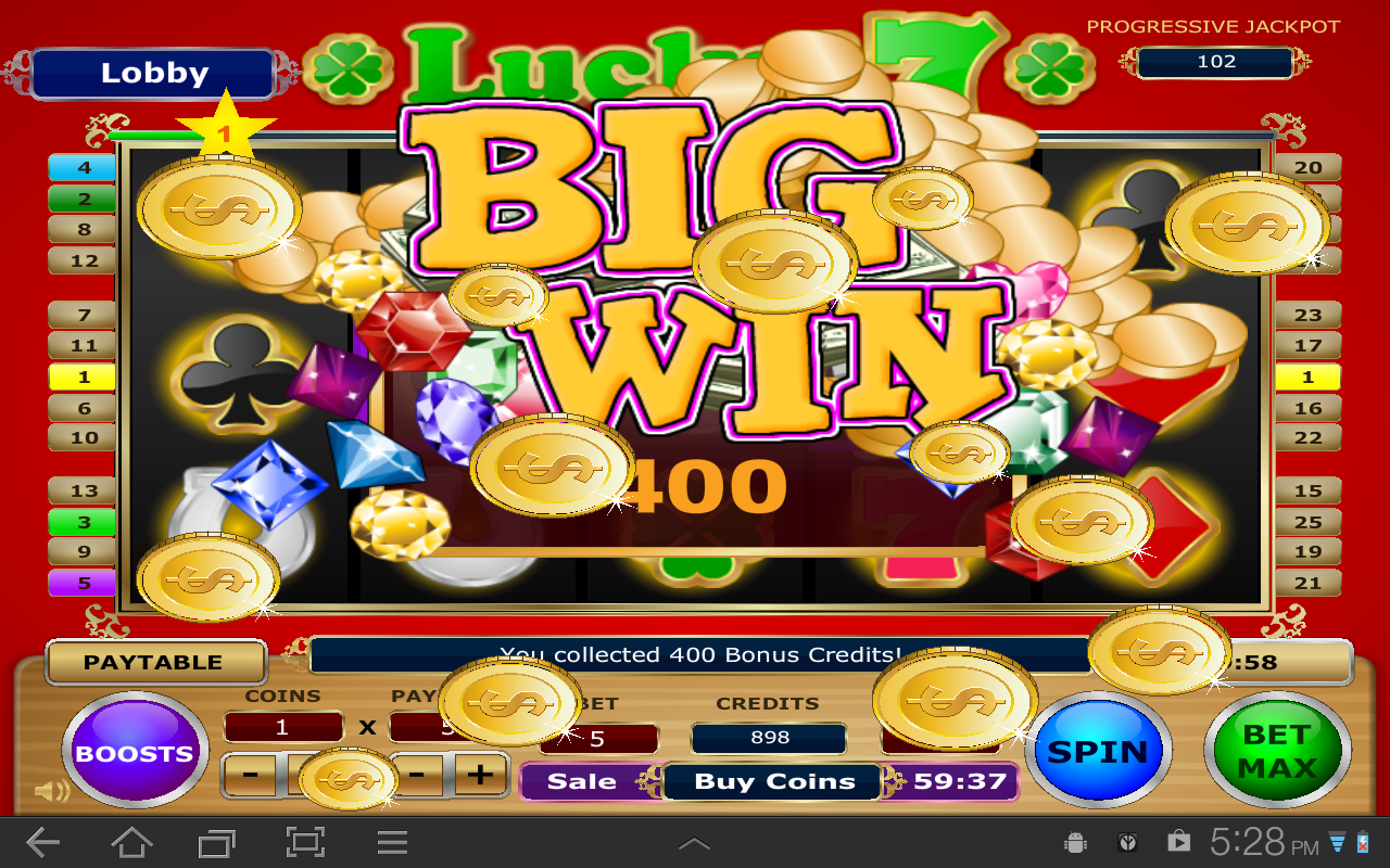 lucky 7 slots online free