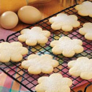 Old-Fashioned Cutout Cookies.