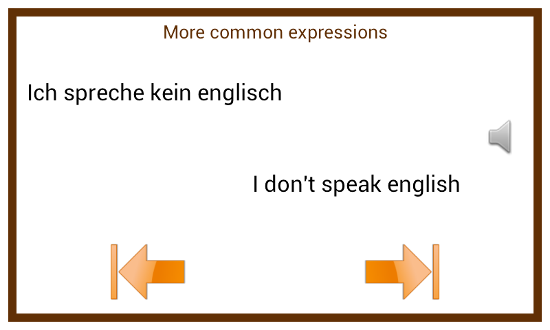 Learn German Conversation :EN – (Android Apps) — AppAgg